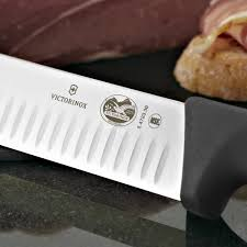 victorinox kitchen knives fibrox amazon com victorinox 12 inch fibrox pro slicing knife with