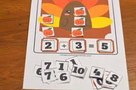 free printable 60 page preschool and kindergarten thanksgiving