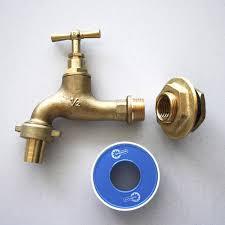 robinet laiton cuisine raccord droit robinet de jardin à visser laiton f 15 x 21 pour
