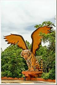 panutatirat tiger with wings haa haa haa