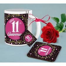 11th anniversary gifts for 11th anniversary gift combo for husband anniversary gift combo for
