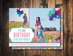 Fashion Design Home Business by Birthday Gift Card Birthday Coupon Promotion Card Gift