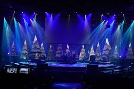 Church Lighting Design Ideas Flowing Trees From New Life Church In Colorado Springs Co