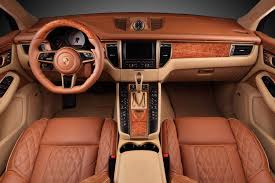 porsche macan interior the topcar porsche macan is a take on the macan and it s