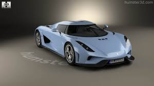 koenigsegg blue 360 view of koenigsegg regera 2015 3d model hum3d store
