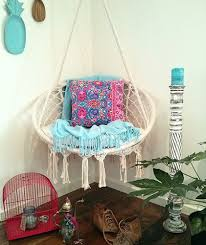 outdoor charming hanging rattan hammock chair cozy spot to