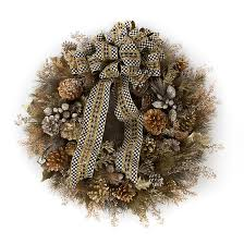 mackenzie childs precious metals wreath large