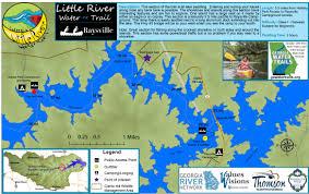 Alligators In Georgia Map Georgia Water Trails Under Development