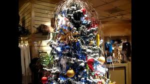 christmas tree in treasure island las vegas gift shop youtube
