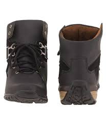 buy boots snapdeal t rock black boots buy t rock black boots at best prices