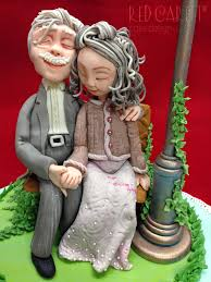 Wedding Roll Out Carpet Old Couple In Love 60 Anniversary By Red Carpet Cake Design
