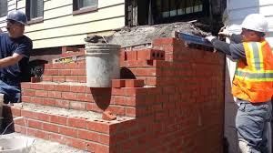 Brick Stairs Design Brick Steps And Limestone Brooklyn Biordi 17183576500