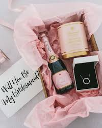 asking bridesmaids ideas best 25 bridesmaid gift baskets ideas on groomsmen