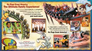 Lake George Six Flags Newsplusnotes Mike U0027s Fill In Brochure Spotlight Six Flags Great