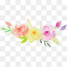 Watercolor Flowers - romantic watercolor flowers free png images and psd downloads