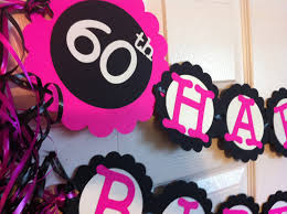 60th birthday decorations birthday decorations personalization available