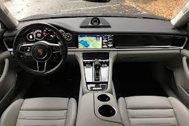 Porsche Panamera Red Interior - 2017 porsche panamera turbo first drive