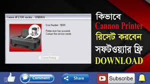 free download resetter canon ip2770 how to reset canon ip2772 ip2770 resetter free download youtube
