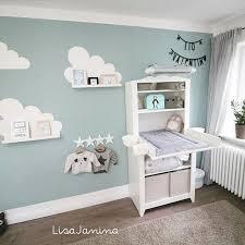 ikea babyzimmer babyzimmer wolken bilderleiste nursery organization