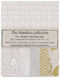 the nepalese collection lokta paper packs blick materials