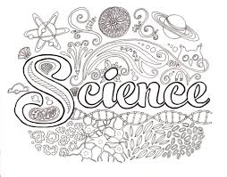 best science coloring sheets images printable coloring page