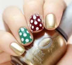 18 easy u0026 cute christmas nail art designs ideas u0026 trends 2015
