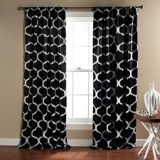Black And White Curtain Designs Curtain Moroccan Style Curtains Fresh Black N White Curtains