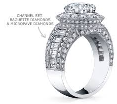 Anatomy Channel Ring Anatomy Of Engagement Rings