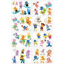 backyardigans temporary tattoos kids 43 tattoos baby