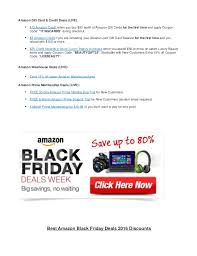 when is amazon black friday deals best amazon black friday deals 2016 discounts