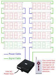 Led 110v Wiring Diagram Led Gas Price Displays Tjg Digital Signs