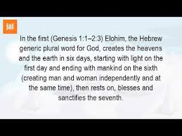 what day did god create light how did god create the world in 7 days youtube