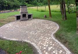 installing patio pavers paver patios with fire pit build your own fire pit diy fire pit