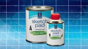 sketch pad dry erase clear coat sherwin williams youtube