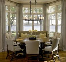 bay window kitchen ideas simple and stylish bay window curtains darbylanefurniture