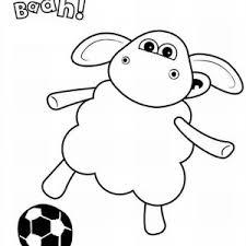 shaun sheep friend bitzer coloring shaun sheep