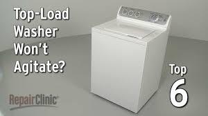 top load washer won u0027t agitate u2014 washing machine troubleshooting