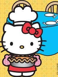 hellokitty twin sister mimmy enjoying picnic