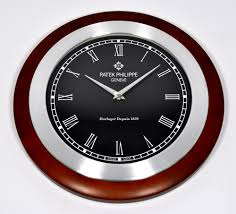 patek philippe calatrava wood showroom display wall clock ebay