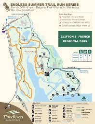 Lebanon Hills Map French 5km 6 15 Endless Summer Trail Run Series Estrs