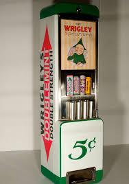 vtg rowe wrigleys vending machine coin op gum mint cigar