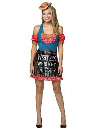 whiskey dress for women wholesale halloween costumes