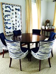 Navy Upholstered Dining Chair Articles With Vintage Upholstered Dining Chairs Tag Interesting