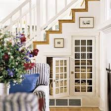 take advantage of space under the stairs 14 basement stair ideas
