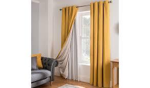 Asda Nursery Curtains Blackout Curtain Lining Yellow Home U0026 Garden George