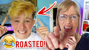 mom roasts my new hair dyeing my hair blonde youtube
