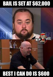 Chumlee Meme - chumlee arrested for drug and weapon possession imgur