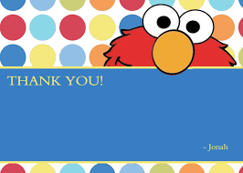 Invitation Note Cards Elmo Blank Thank You Notes Elmo Thank You Cards Elmo Polka