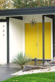 yellow front door 26 modern front door designs for a stylish entry shelterness