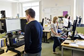 Sit Stand Office Desk Nhs Office Workers To Trial Sit Stand Desks To Improve Health